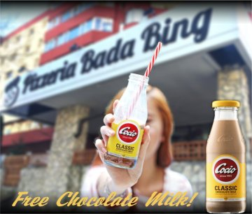 Free Chocolate Milk - Promotie nevalabila